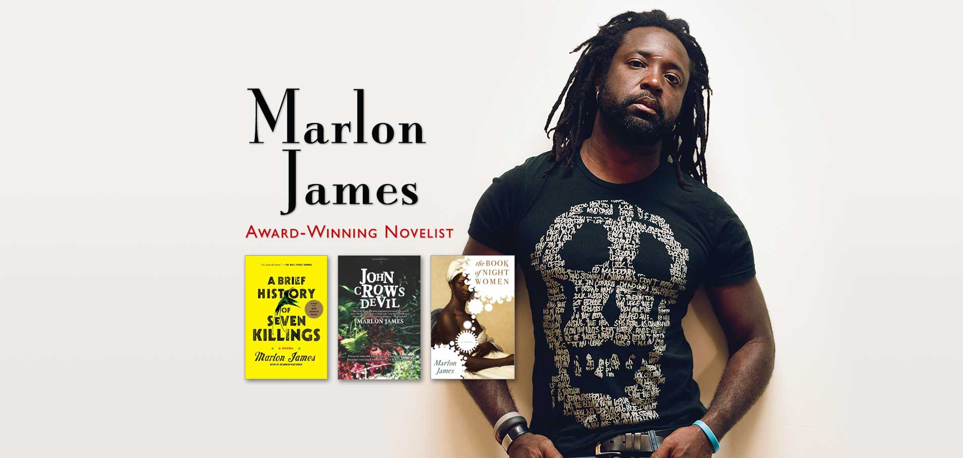 Marlon James image