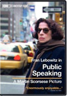 Public Speaking, an HBO documentary (DVD)