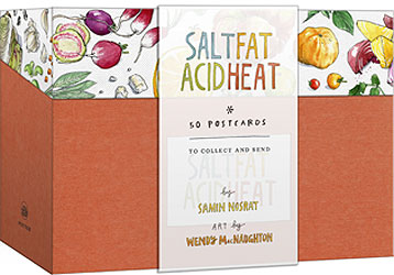 Salt, Fat, Acid, Heat Postcards
